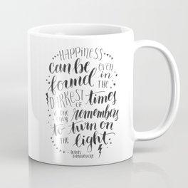 Turn on the Light Coffee Mug