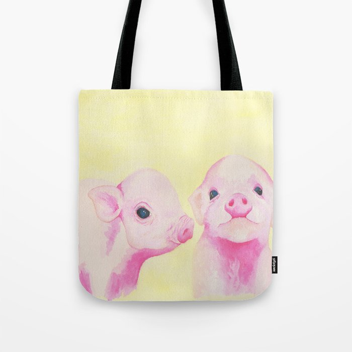 Baby Piglets Tote Bag