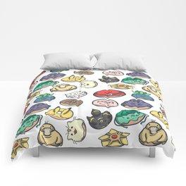 Poke Donuts Comforters