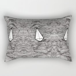Paper Planes. By Ane Teruel Rectangular Pillow