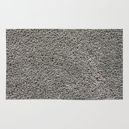 Gray soft carpet texture Rug