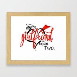We're Slayers, Girlfriend Framed Art Print