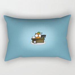 work Rectangular Pillow