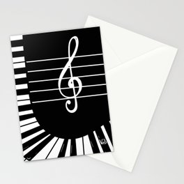 Piano Keys I Stationery Cards