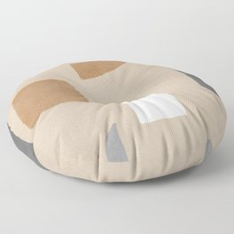 Relaxed abstract shapes Floor Pillow