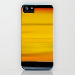 Firey Night iPhone Case