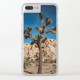 Joshua Tree National Park III Clear iPhone Case