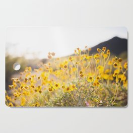 Arizona Wildflowers Cutting Board