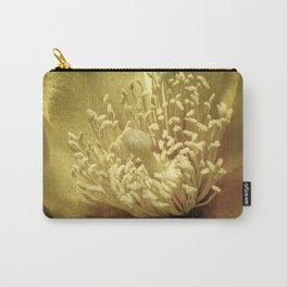 Golden Cactus Cup Carry-All Pouch