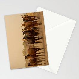Wild Horses 6608 - Northwestern Nevada Stationery Cards