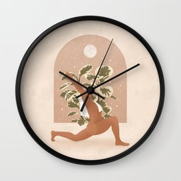 Cura Te Ipsum - Take Care of Yourself Wall Clock