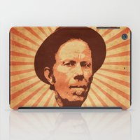 tom waits iPad Cases featuring Waits by Durro