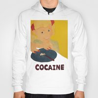 cocaine Hoodies featuring Sweet sweet cocaine... by Albertine et Gedeon