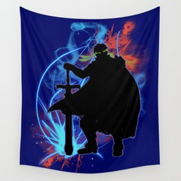 Super Smash Bros. Ike Silhouette Wall Tapestry