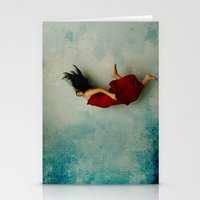 murakami Stationery Cards featuring Endless River by Maria Amore