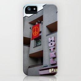 Puntukas iPhone Case