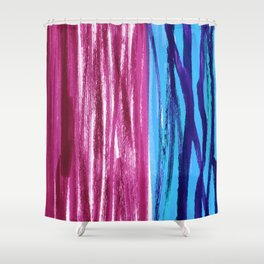 Pattern Design by #Mahsawatercolor Shower Curtain