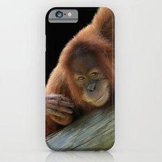 Smiling Young Orangutan Slim Case iPhone 6s