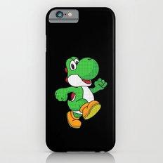 Yoshi Pop Art - Black iPhone 6 Slim Case