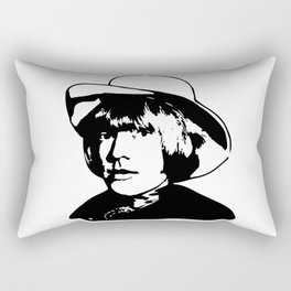 PORTRAIT OF BRIAN THE STONE Rectangular Pillow