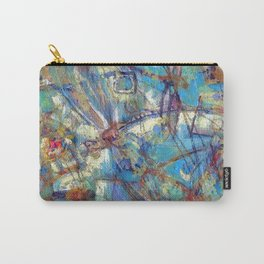 Dragonflies in blue Carry-All Pouch