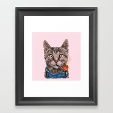 Sailor Cat IX Framed Art Print