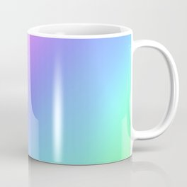Holographic Foil Multi Colored Pattern Colorful Gradient Abstract Rainbow Coffee Mug