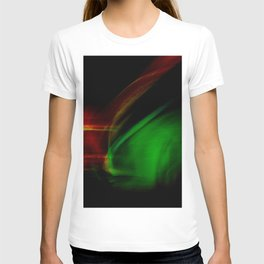 Green on Red T-shirt
