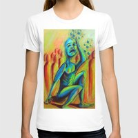 anxiety T-shirts featuring Anxiety by Michael Anthony Alvarez