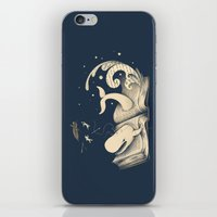 dick iPhone & iPod Skins featuring Moby Dick by Enkel Dika