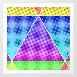 tri-double double Art Print