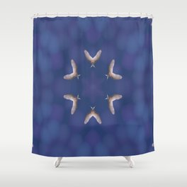 Double Winged Fantasy Shower Curtain