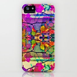 Thru the Kaleidoscope  iPhone Case