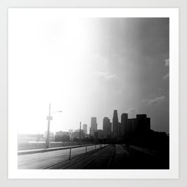 Downtown Los Angeles Art Print
