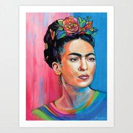 Frida Kahlores Art Print