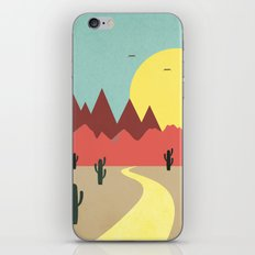 Desert and mountains iPhone & iPod Skin