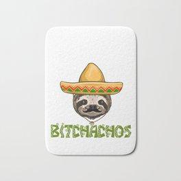 Adios Bitchachos Sloth Bath Mat
