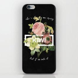 Harry Styles Kiwi graphic design iPhone Skin