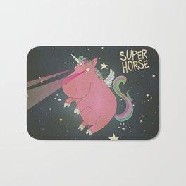 Super Horse... Unicorn Dreams. Bath Mat