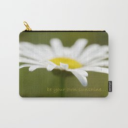 Be Your Own Sunshine Carry-All Pouch