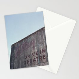 Drive-In Movie Theatre Stationery Cards