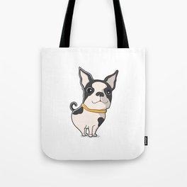 cute dog Puppie Tote Bag
