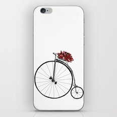 Christmas Bicycle iPhone & iPod Skin