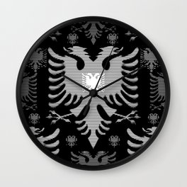 Eagles / Paterns / Creation / Composition V Wall Clock