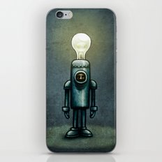 Mr. Bulb iPhone & iPod Skin