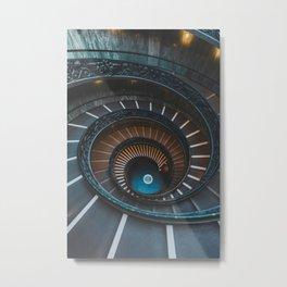 Bramante Staircase, Vatican City Metal Print