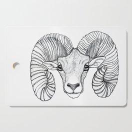 Ram Head Cutting Board