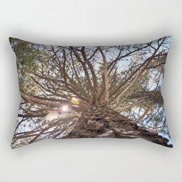 Never Stop Looking Up (Tree 1) Rectangular Pillow