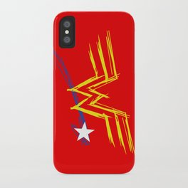 Diana Prince: Raw iPhone Case