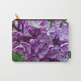 Lilac Blooms Carry-All Pouch